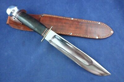 Vintage Marbles Knife Large with Sheath