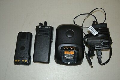 Motorola Xpr 7350 Two Way Radio Uhf Aah56rdc9ka1an W Charger