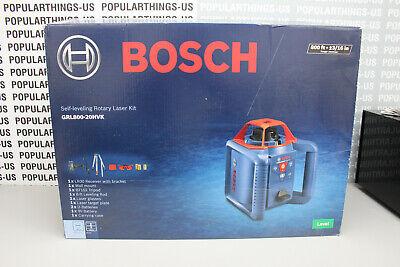 Bosch Grl800-20hvk Self-leveling Rotary Laser Kit - Newopen