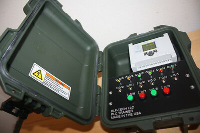 Allen-bradley Micrologix 1100 1763 L16bwa Plc Trainer W Plc And Hmi Lab Books
