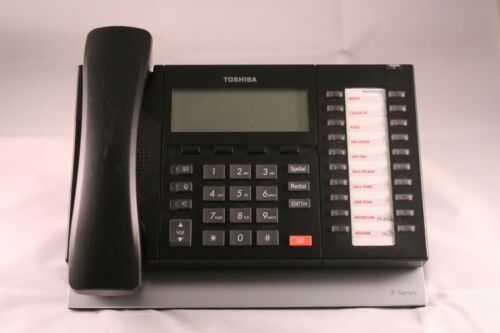 Lot of 10 Toshiba IP5132-SD 20-Button Backlit Display IP Business Office Phones