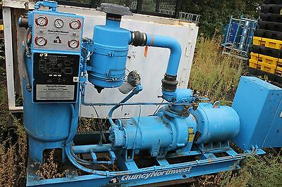Quincy Northwest Rotary Screw Compressor 75 Hp Qnw-372-d