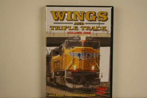 DVD Wings and Triple Track Volume 1 - Railroad Video Productions