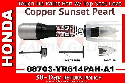 Genuine OEM Honda Touch-up Paint Pen - YR-614P Copper Sunset Pearl ()