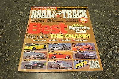 ROAD & TRACK BEST ALL-AROUND SPORTS CAR MARCH 2005 VOL.56 #7 9248-1 LOC.ELK