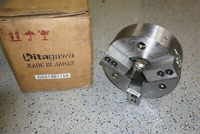 New Kitagawa Lathe Chuck Bb-212 12 3 Jaw Power Chuck A2-11 Samchully Mh-212