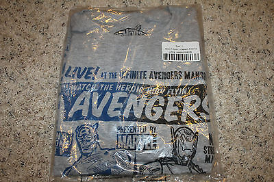 2015 Funko Marvel Collector Corps  Avengers  Age Of Ultron L Mens T Shirt