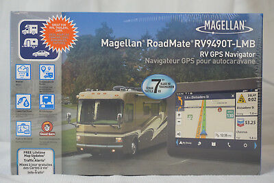 "Magellan Roadmate 7"" Touchscreen GPS 3D Navigation System 1-Year Warranty New"