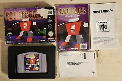 Robotron 64 - OVP/Boxed Nintendo 64 N64 PAL