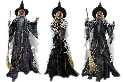 Hexe-stehend-70 cm- in 3 Farben-Hexenfigur-Hexenfiguren-Hexen-Halloween-Fasching