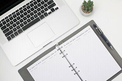 Free Refills - 3 Years - Minimalist - Monthly Budget Planner - Undated - New