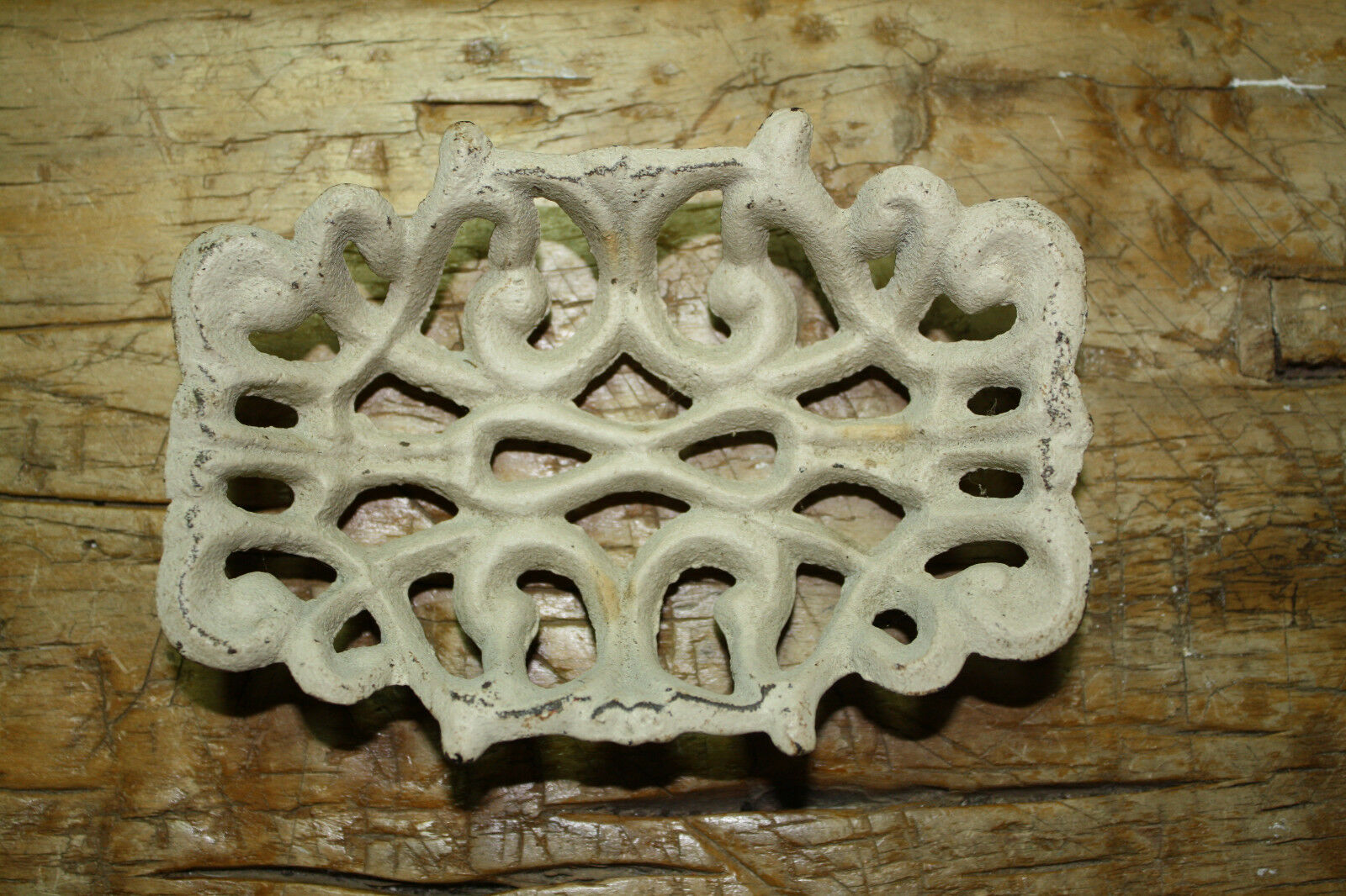 Cast Iron Antique Victorian Style SOAP DISH Rustic Ranch Kitchen Bathroom Decor