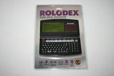 Vintage Rolodex Hand Held Organizer 64k Model El3164 - 1000 Business Records