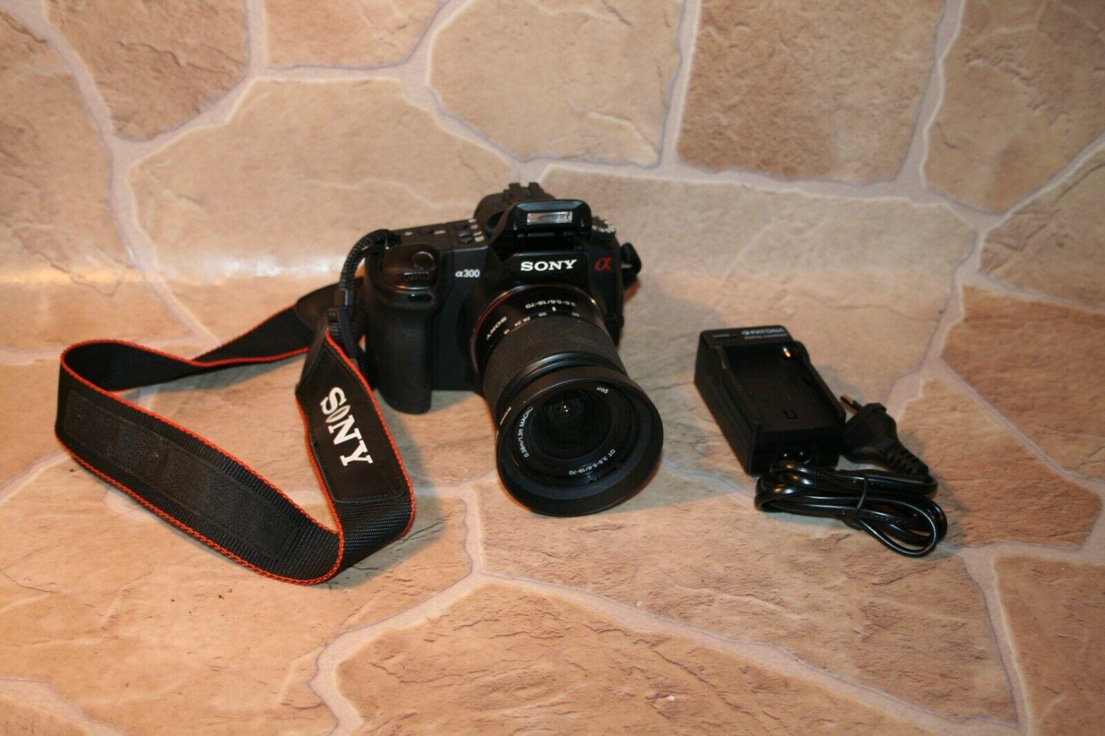 Sony Alpha 300 DSLR-A300 Digitale Spiegelreflex Kamera