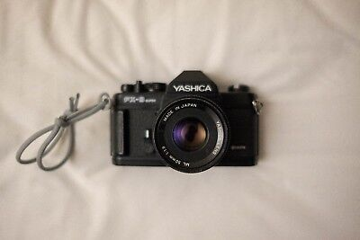 Yashica FX3 Super 2000 35mm SLR Film Camera with 50mm Lens (BODY MINT)