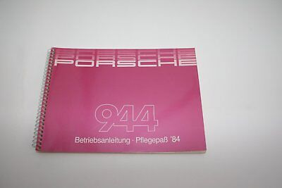 1984 Porsche 944 - Original Drivers Manual (German)