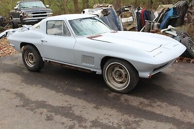 1967 Chevrolet Corvette Coupe Project 1967 Corvette Stingray Coupe #'s matching 327/300hp 4-speed