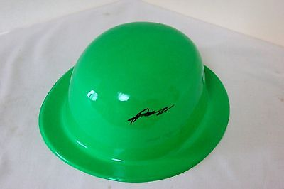 Green Hornet Promo Hat 2011 Signed - Writer Ande Parks + All Hornet TV shows VHS (Green Hornet Hat)