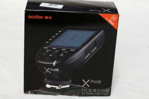 Godox XPro-N 2.4G i-TTL Ii HSS 1/8000s LCD Transmitter Trigger For Nikon DSLR