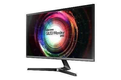 Samsung UHD QLED 4K TV Monitor U28H750 Vibrant Colors Super-fast Response Time