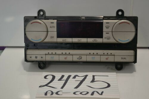 2007 2008 2009 Lincoln MKZ AC and Heater Control Used Stock #2475-AC