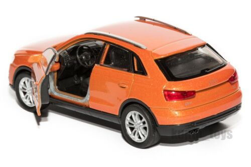 Details about  /Audi Q3 silver Welly scale 1:34-39 model toy car gift