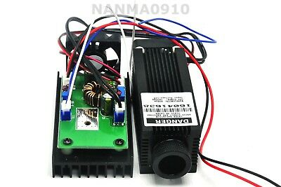 Focusable 800mw 980nm Infrared Ir Laser Dot Module W 1w Diode Ld Fan Ttl 12v