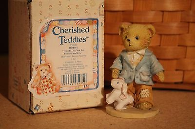 Cherished Teddies Figurine Jeremy Bunny