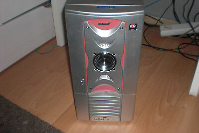 MS-Tech Gaming-Tower LC 402 + Super Multi DVD Laufwerk/Cd-Brenner RW Drive Gh80n