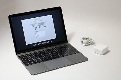 Apple MacBook A1534 MLH72LL/A - Intel 1.1GHz/8GB DDR3/256GB Space Gray (0003)