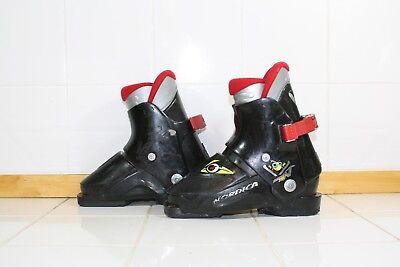Nordica Super 0.1 Rear Entry Ski Boots Mondo 18.5 Kids 13 Toddlers - Lot RA6