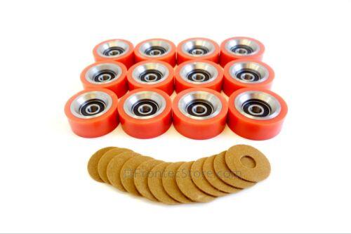 70568201 Orange Dryer Drum Support Roller Bearing Alliance ALS 70298701P 12pk