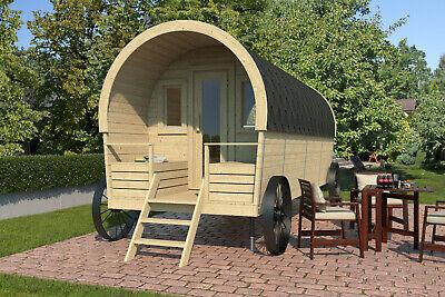 28mm Westernwagen mit Rädern 203x500 cm Holzhaus Ferienhaus Gartenhaus Pipowagen tweedehands  verschepen naar Netherlands