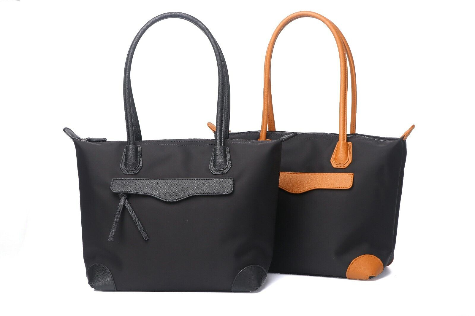 Jeelow Work Tote Shoulder Bag Lightweight Oxford Nylon Handb