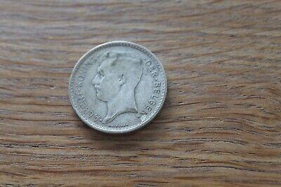 ancienne pièce de monnaie BELGIQUE ALBERT - 20 F 1934