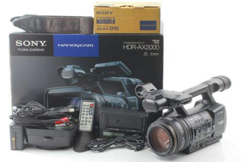 [Almost MINT in Box] Sony HDR-AX2000 Digital HD Video Recorder From Japan #1712
