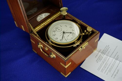 Hamilton Model 21 Marine Chronometer, just overhauled.