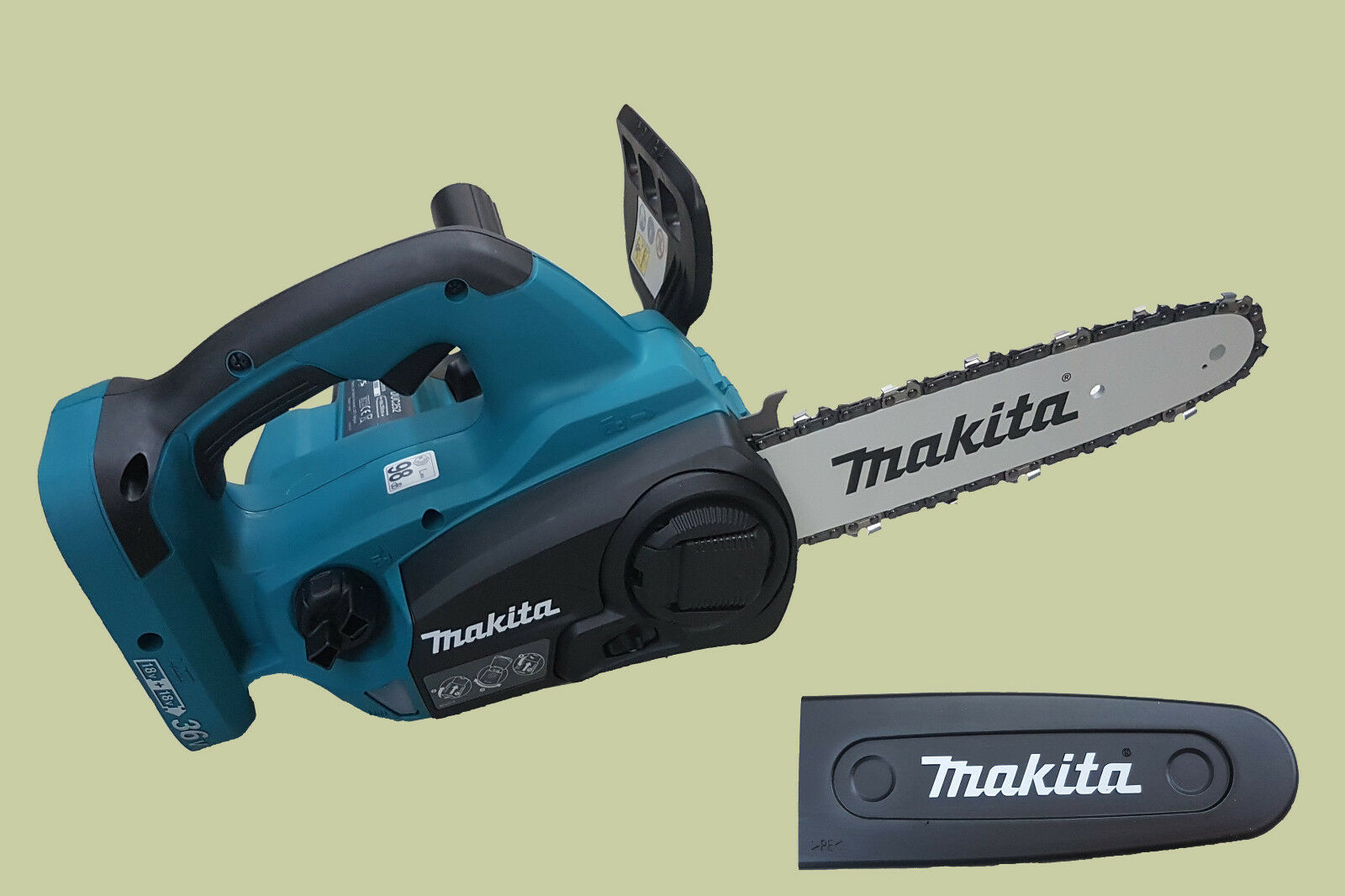 Makita top handle akku kettensäge duc z solo version