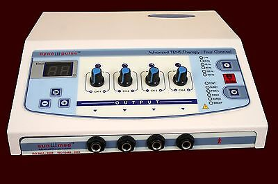 Electrical Electrotherapy Machine Physiotherapy Pain Therapy 4 Channel Machine1