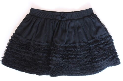 BABY GAP Girls BLACK TULLE SKIRT Sz 18-24 Attached Bloomers *hk