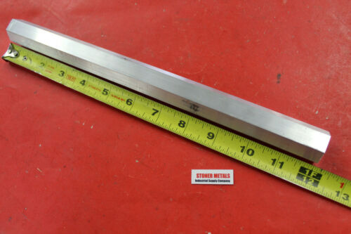 "HEX 7/8"" ALUMINUM 6061 HEX BAR 12"" long T6511 SOLID Extruded LATHE STOCK"