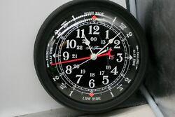 1981 vintage SETH THOMAS WALLSPRITE TIME/TIDE Wall Clock  Quartz WORKING B1