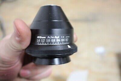 Nikon Microscope 1.4 Achr Apl Condenser For Optiphot Labophot Eclipse E400 E600