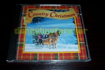 Country Christmas The Time Life Music New 2 CD Set 40 Songs Made in USA 1997