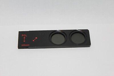 Leitz Wetzlar Microscope Ict Pol Plate Dic Mikroskop Polarising