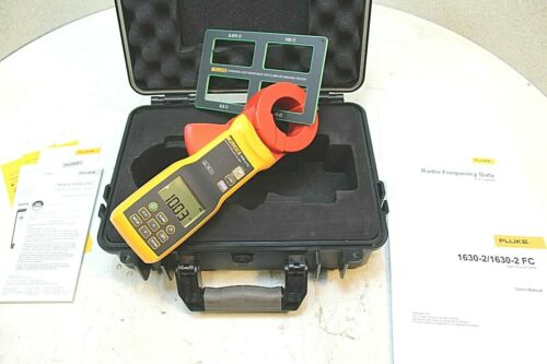 FLUKE 1630-2 FC Earth Ground Clamp, MINT Condition