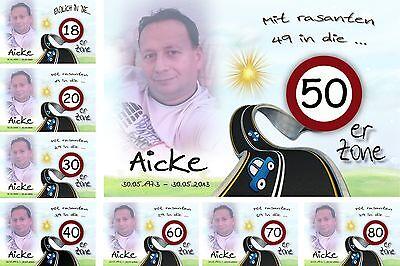 it Foto zum 18 20 30 40 50 60 70 Geburtstag Deko Geschenk  (60. Geburtstag)