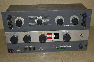 Leeds Northrup Model 7555 Type K-5 Potentiometer Mc3