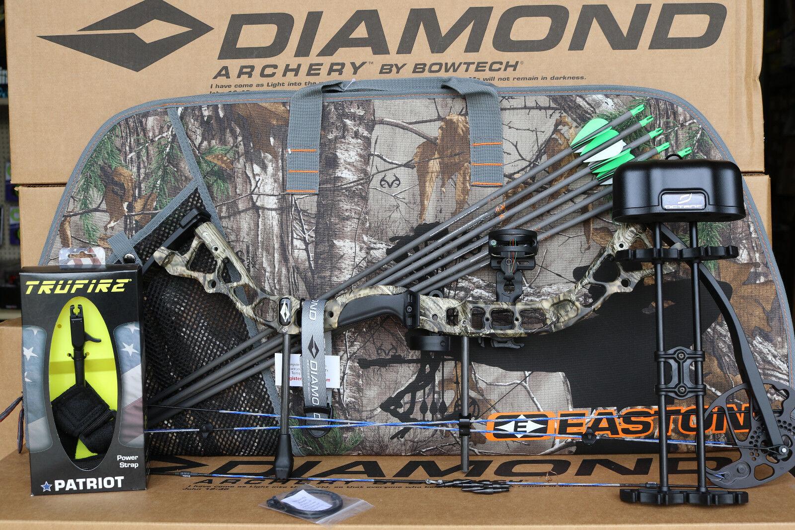 2019 Diamond Bowtech Infinite Edge Pro RH CAMO Bow UPGRADED