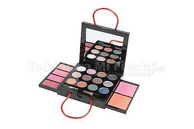 Girls Children Makeup Kit Set Eyeshadows Lipgloss Blush Applicator